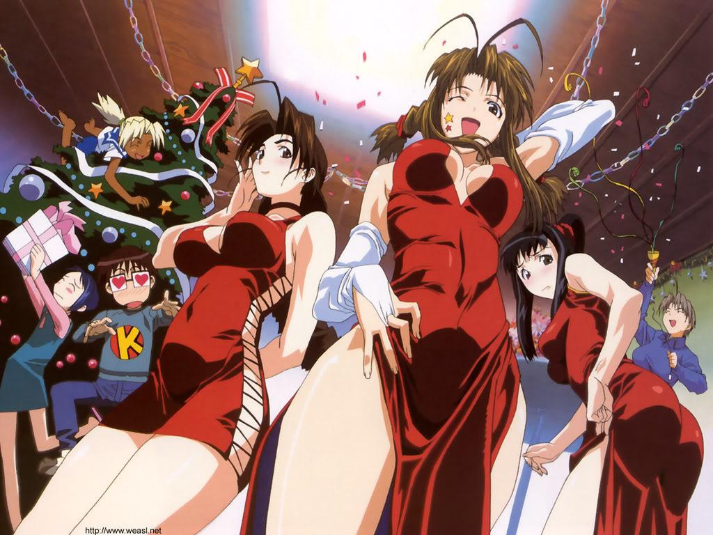 Foto Anime Navideña Love_hina_wallpaper1