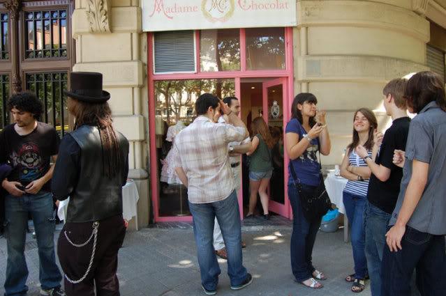 Quedada informal+Inauguración Madame Chocolat en Barcelona 2832
