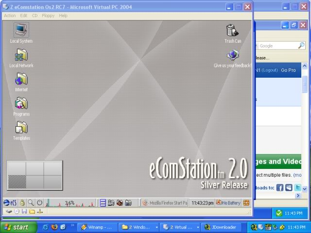 Re-created Desktop Thread EComstation20RC7