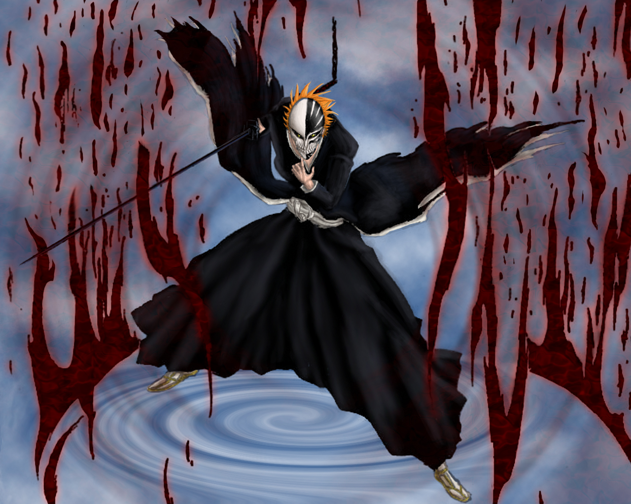 Legiono's mask(im turning Vizard cause they're awesome...) Ichigo_Bankai_Vizard