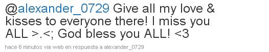 [TWITTER] Tweets de alexander C3364f68