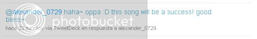 [TWITTER] Tweets de alexander D9d924a3