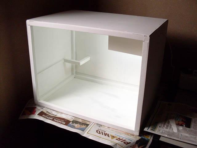 Tutorial: Construindo uma Cabine de Pintura Bancada23