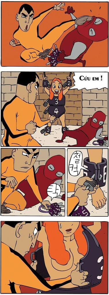 Tranh truyện hài hàn quốc Comicbruce1