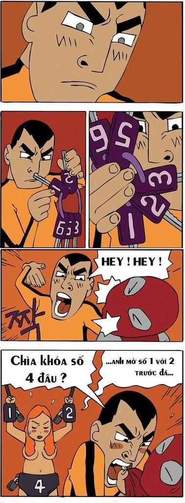 Tranh truyện hài hàn quốc Comicbruce2