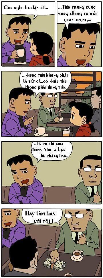 Tranh truyện hài hàn quốc Comicmoney1