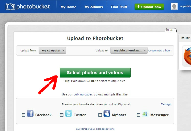 How to Upload Photos or Resize them for the Forum Upload1