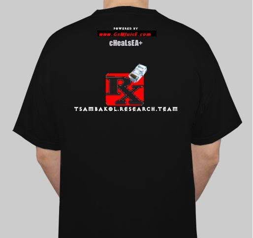 TBT t-shirt available!!! Back