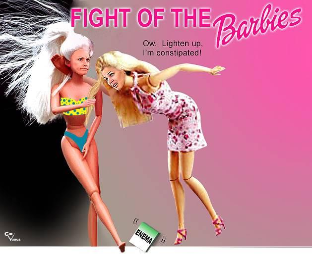 Big Brother Fan Art Barbiefight