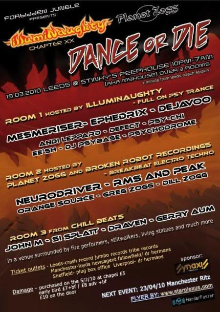 illumiNaughty & Planet Zogg present :.Dance or Die DoDA5backCMYKfont