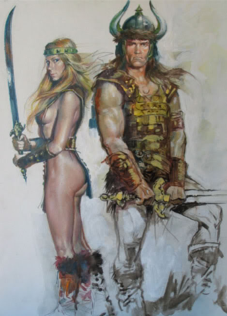 Renato Casaro affichiste Conan1