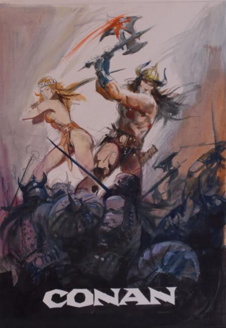 Renato Casaro affichiste Conan2-1