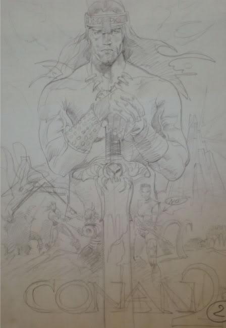 Renato Casaro affichiste Conan2a