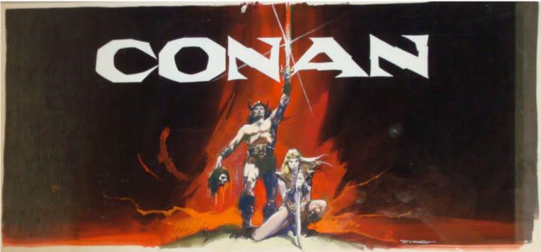 Renato Casaro affichiste Conan3