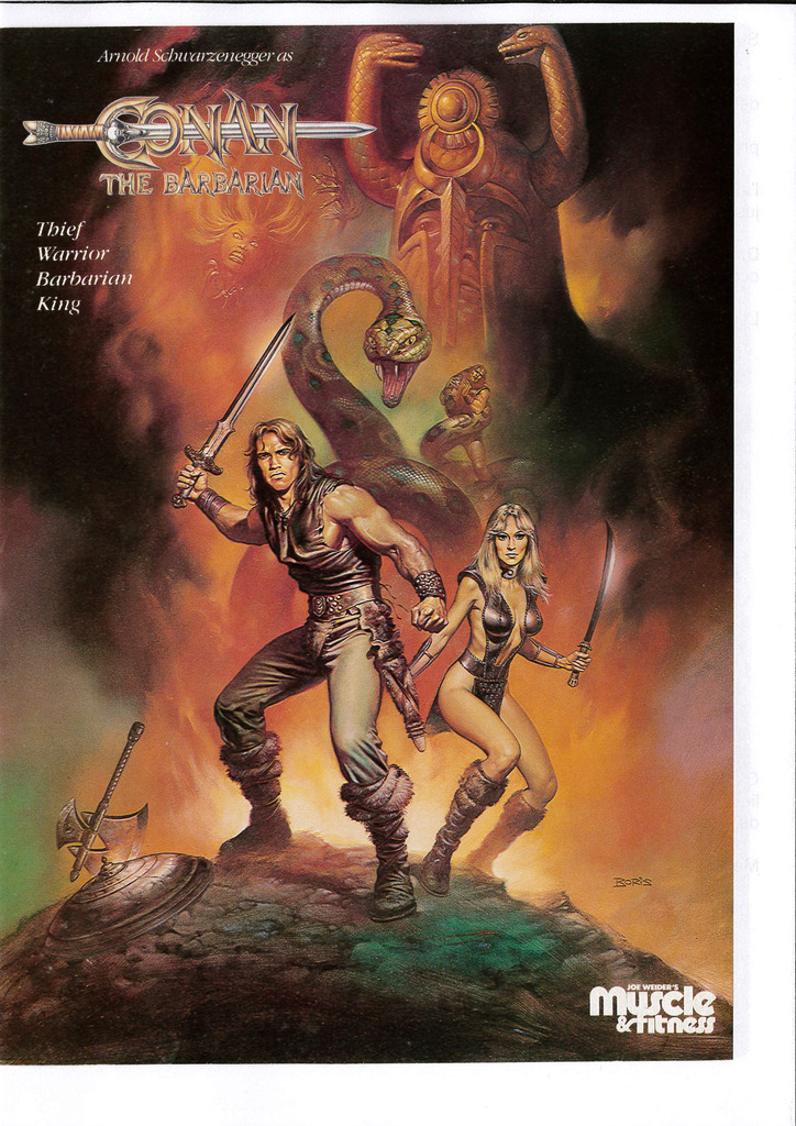 Magazines USA/France Conan the barbarian 1982 Muscle%20fitness%20july%20poster%20Conan_zpswcxjc9gp