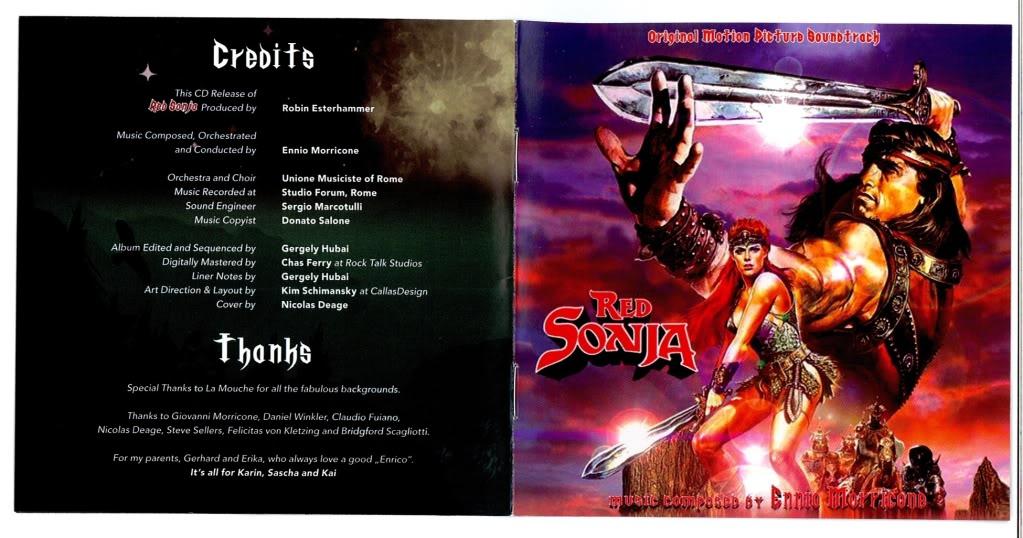 BOF OST RED SONJA + CONAN INTEGRAL 2010 Red1