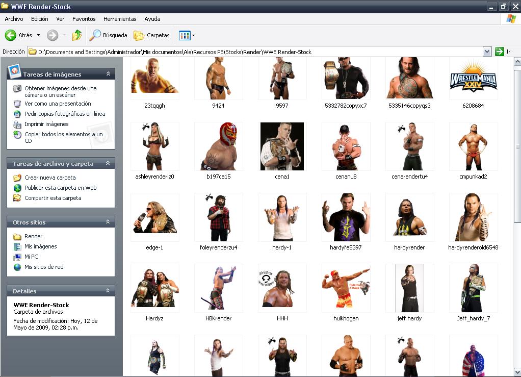 Pack de Stocks de The Veronicas y de la WWE WWE