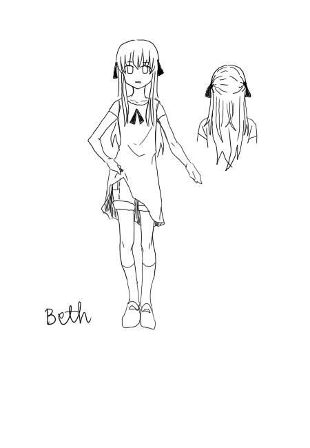 [Character CF2]TANYA&BETH  intro มาแล้ว!! Beth