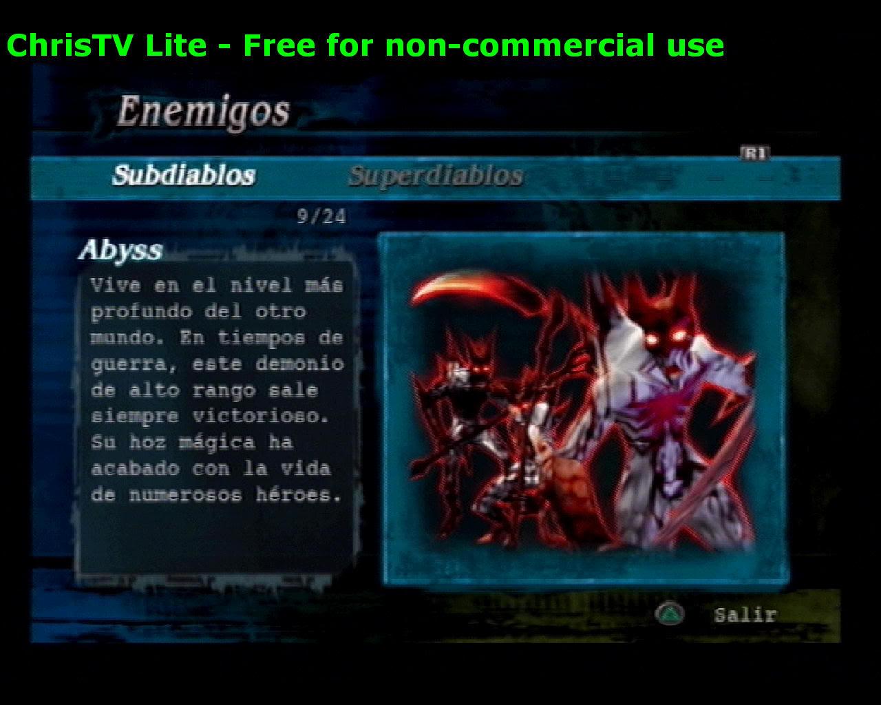 Listado de Subdiablos de Devil May Cry 3 Abyss