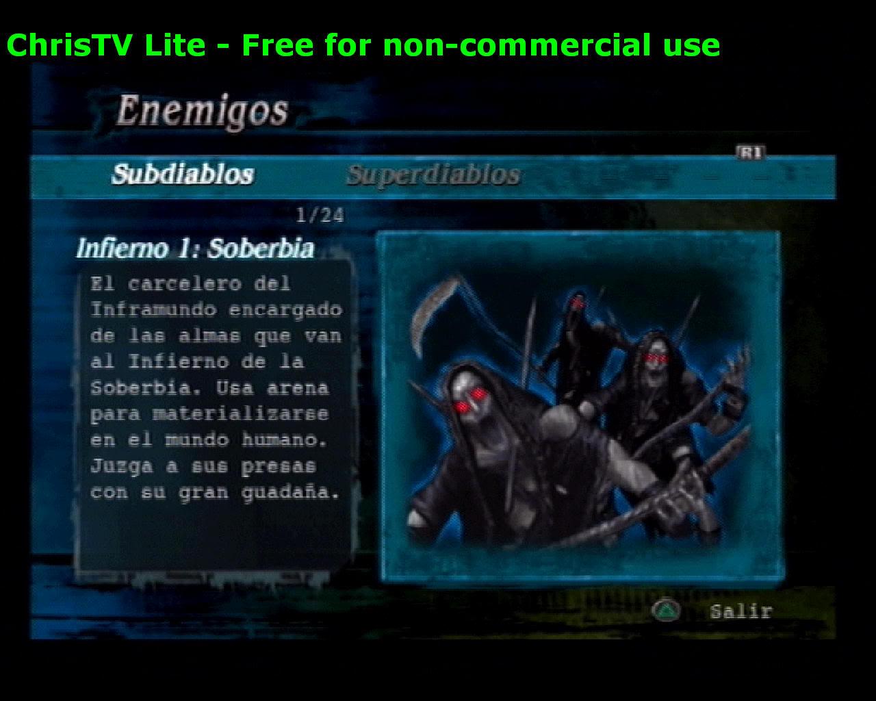 Listado de Subdiablos de Devil May Cry 3 Infierno1Soberbia