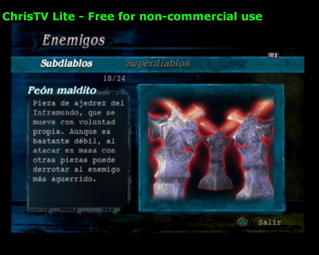 Listado de Subdiablos de Devil May Cry 3 PenMaldito