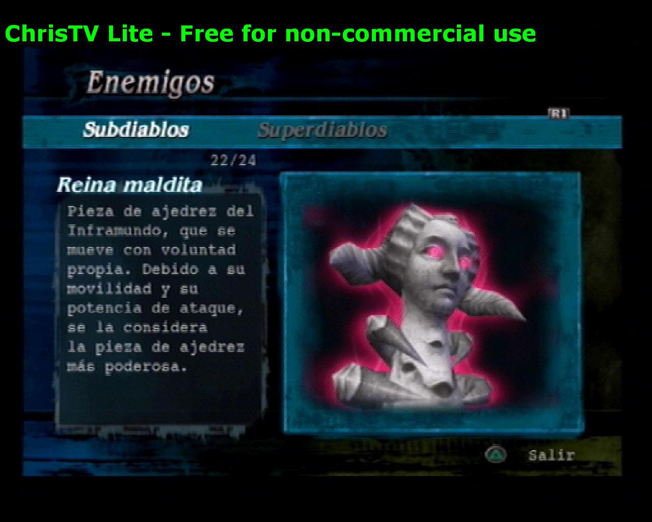Listado de Subdiablos de Devil May Cry 3 ReinaMaldita