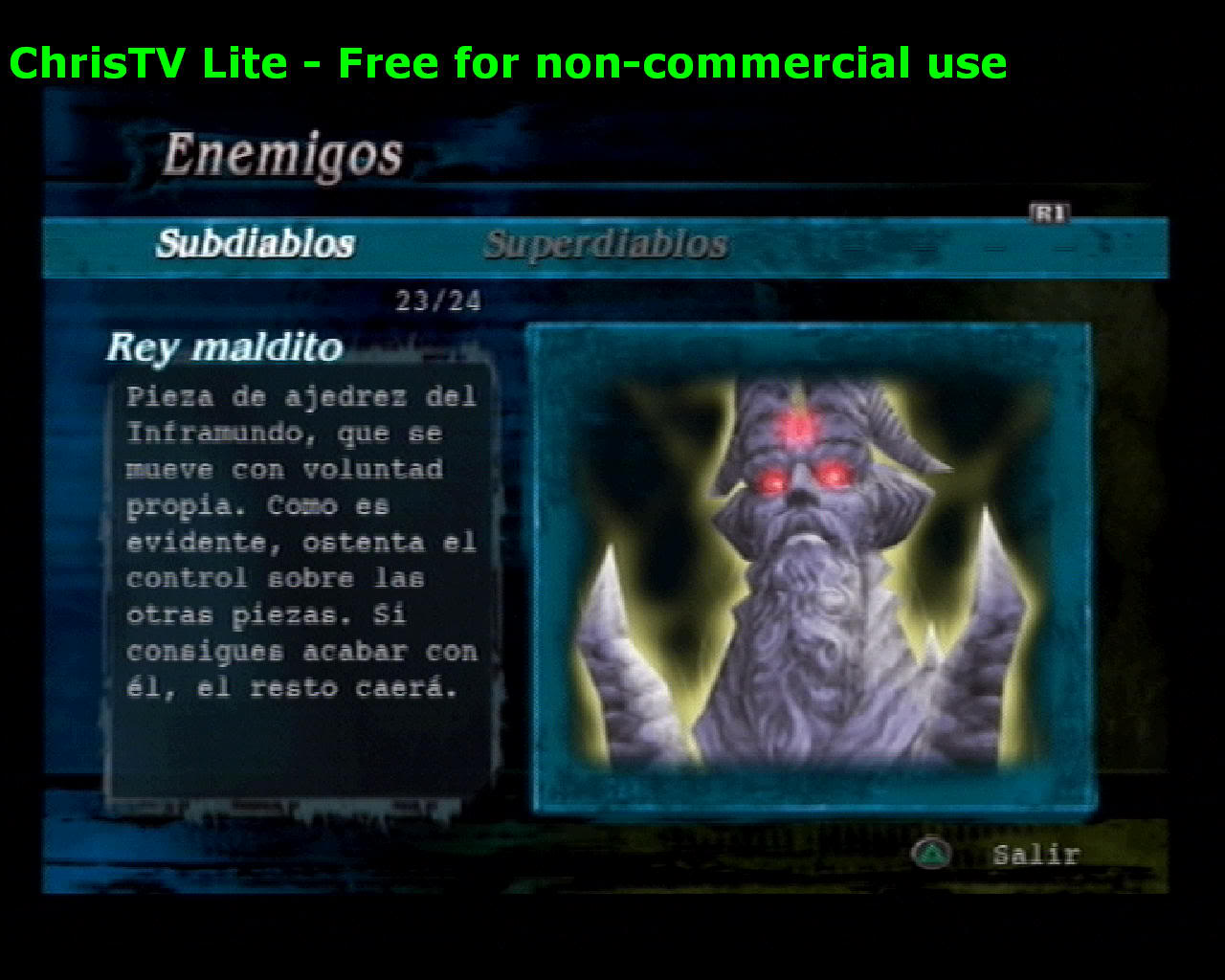 Listado de Subdiablos de Devil May Cry 3 ReyMaldito