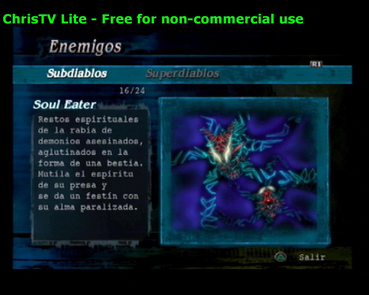 Listado de Subdiablos de Devil May Cry 3 SoulEater