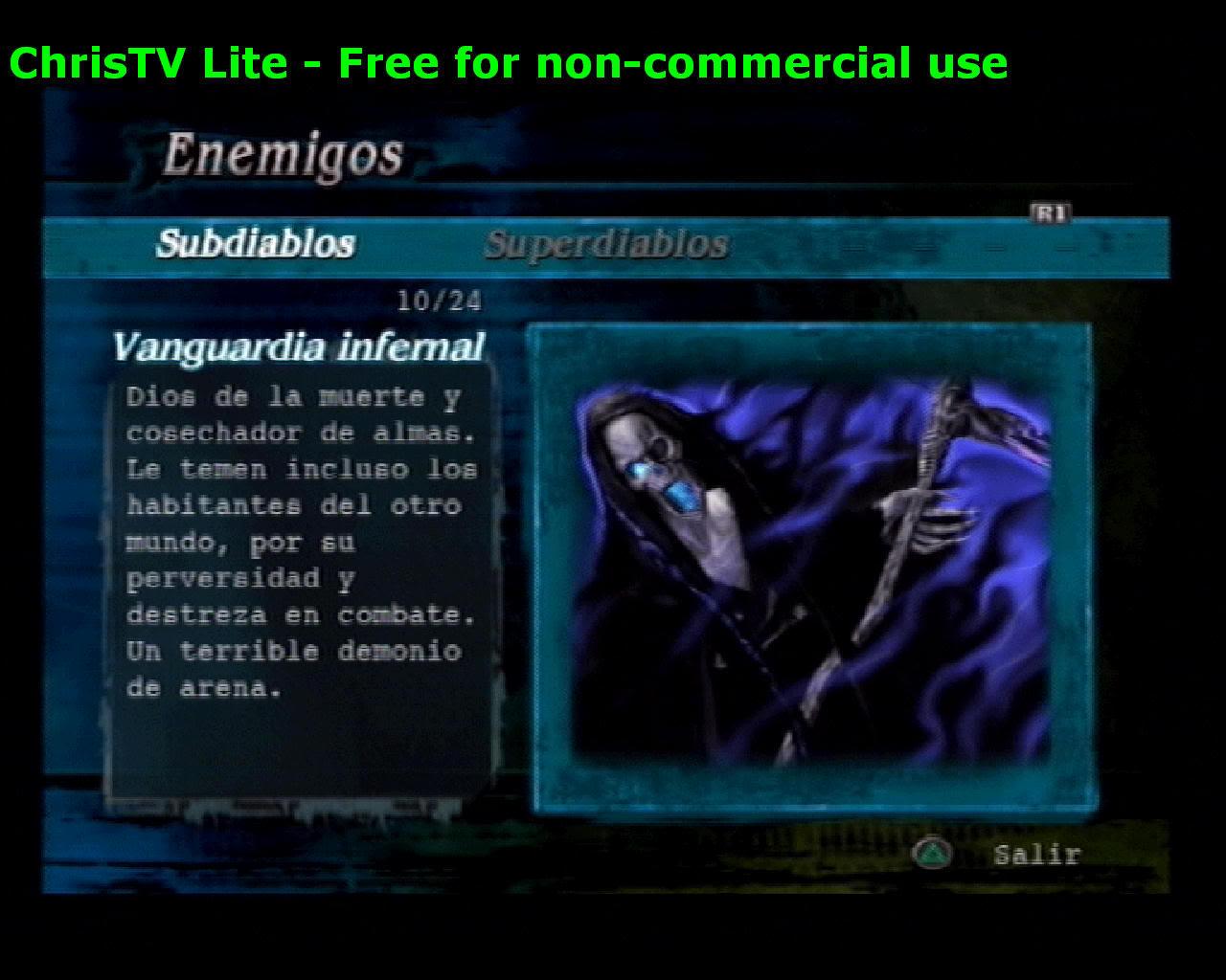 Listado de Subdiablos de Devil May Cry 3 VanguardiaInfernal