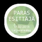 23. helmikuuta -15 / Match Show opetushevosille ja -poneille! PERUTTU Parasesittaumljauml170215