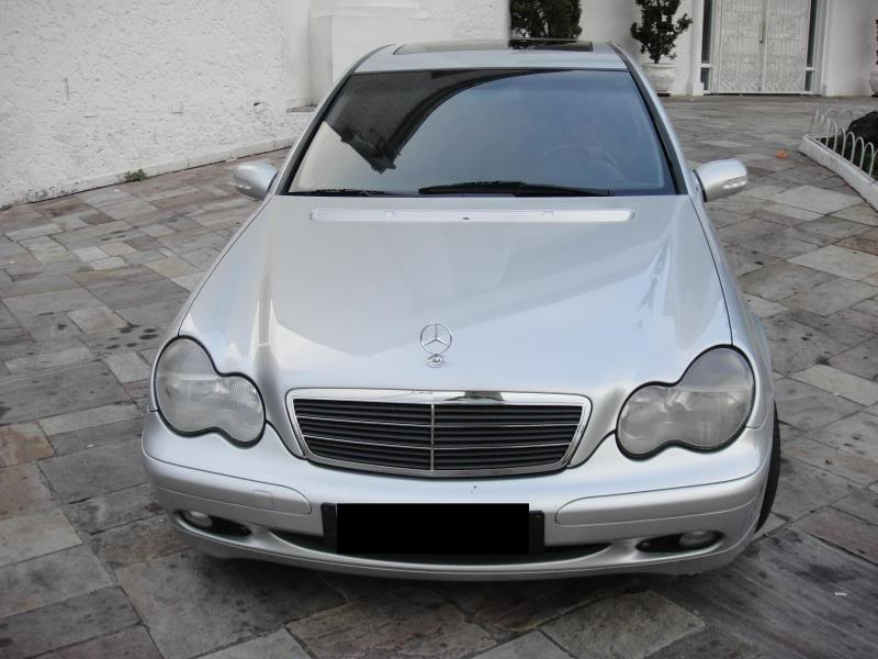 Vendo C180 ano 2002 (W203) R$ 45.000,00 DSC00543