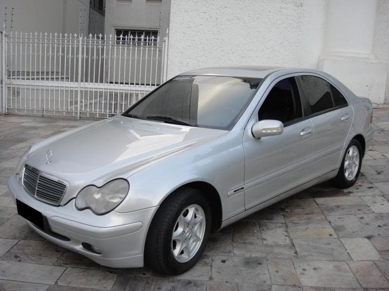 Vendo C180 ano 2002 (W203) R$ 45.000,00 DSC00545