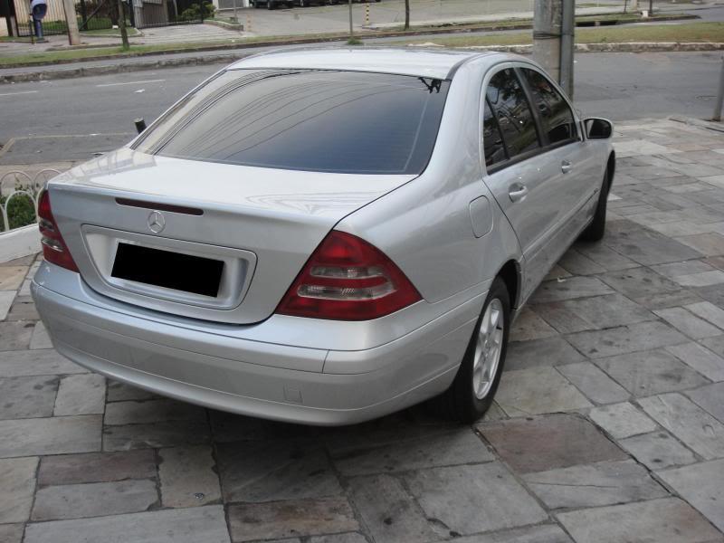 Vendo C180 ano 2002 (W203) R$ 45.000,00 DSC00547