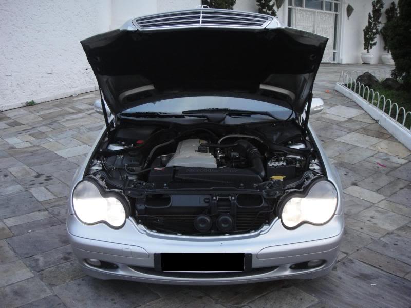 Vendo C180 ano 2002 (W203) R$ 45.000,00 DSC00562