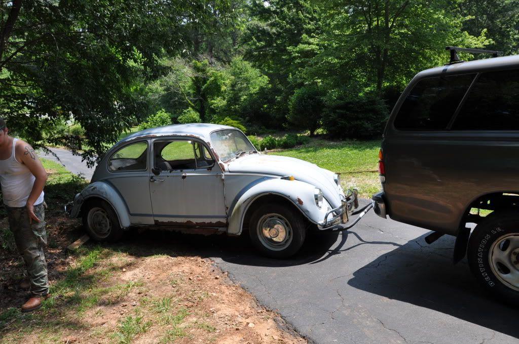 "'67 Beetle ""Judy"" 67bughomecoming013"