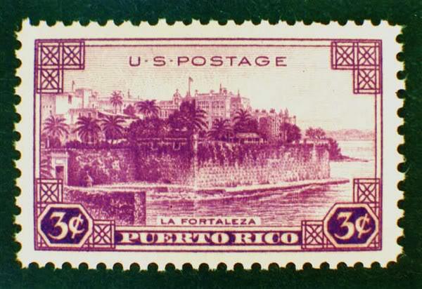 Sellos emitidos por el correo de EU relacionados a PR 003-2