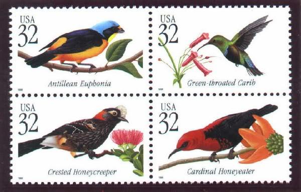 Sellos emitidos por el correo de EU relacionados a PR 006-3