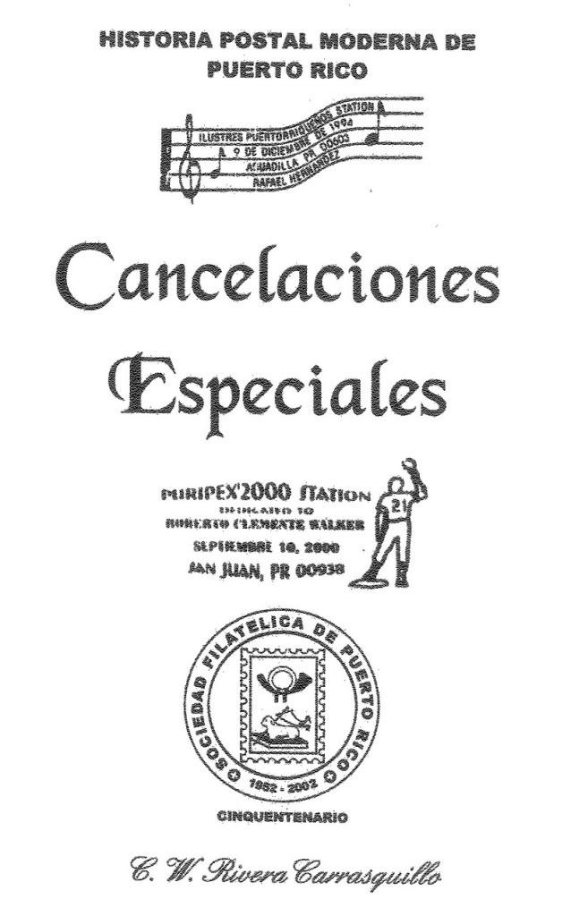 Cancelaciones Especiales de Puerto Rico 1927-2001 001-6