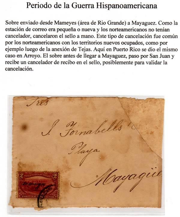 Articulo Puripex 2007 - LA ESTACION POSTAL MILITAR DE MAMEYES, Puerto Rico 001s