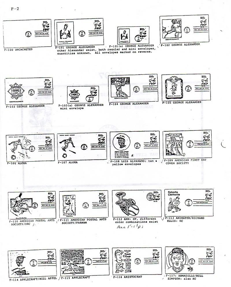 Catalogo FDC de Clemente 2097 002-8