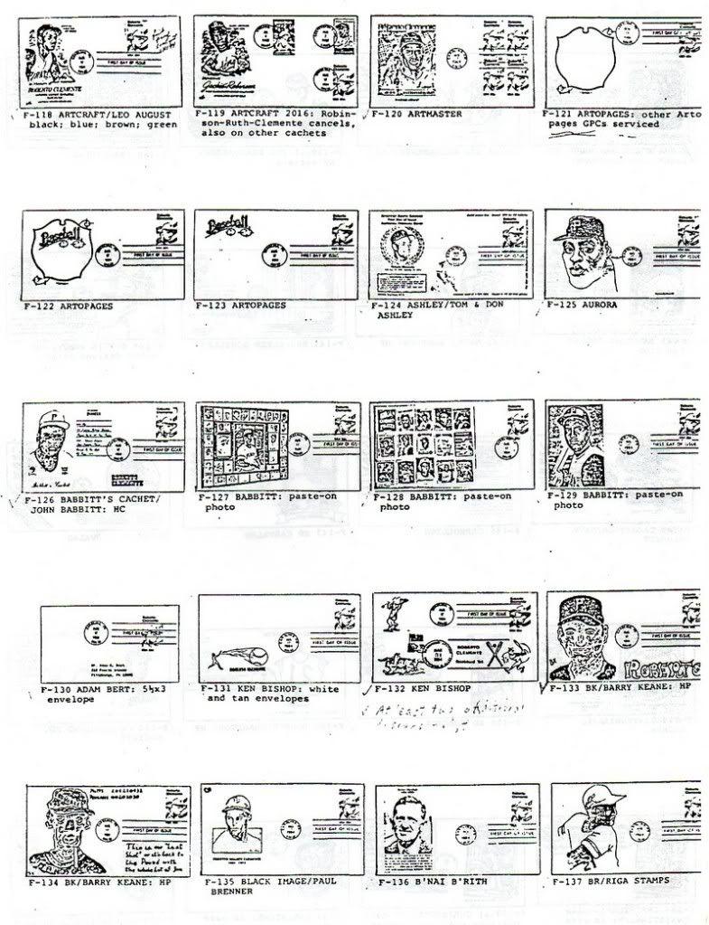 Catalogo FDC de Clemente 2097 003-7