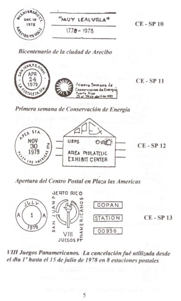 Cancelaciones Especiales de Puerto Rico 1927-2001 006-5