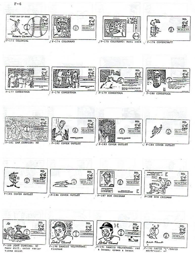 Catalogo FDC de Clemente 2097 006-7