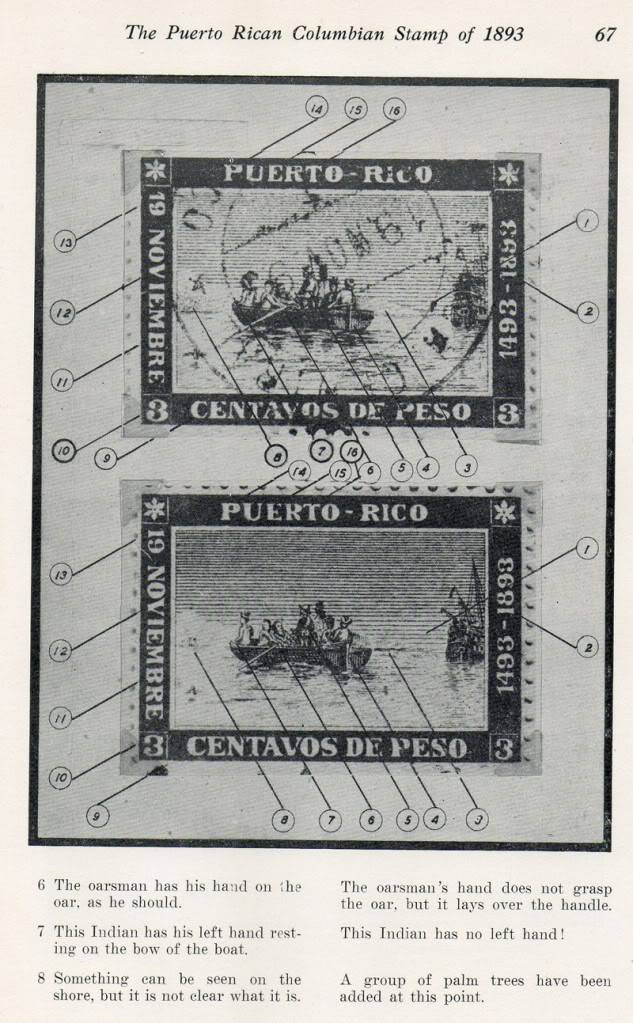 The Puerto Rican Columbian Columbian Stamp of 1893 by Preston 007-7