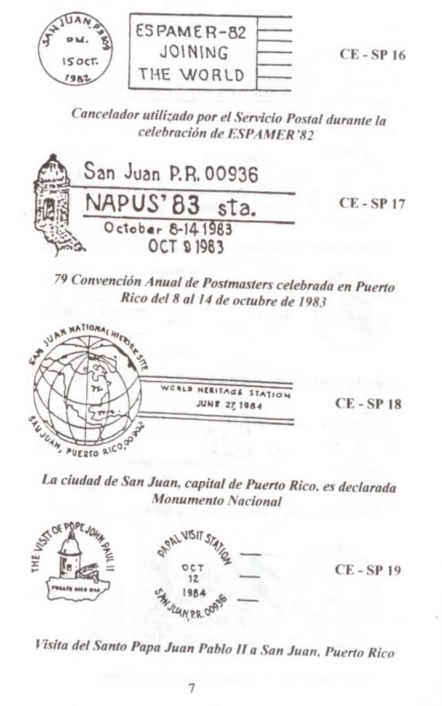 Cancelaciones Especiales de Puerto Rico 1927-2001 008-3