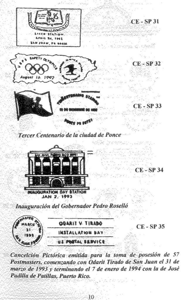 Cancelaciones Especiales de Puerto Rico 1927-2001 011-3