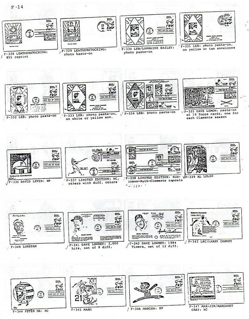 Catalogo FDC de Clemente 2097 014-3