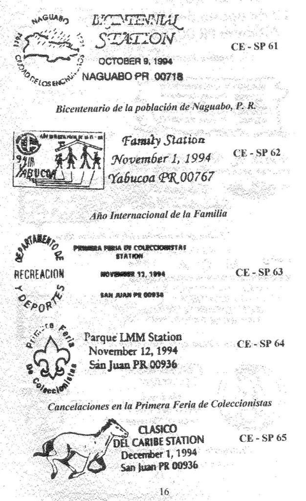 Cancelaciones Especiales de Puerto Rico 1927-2001 017-1
