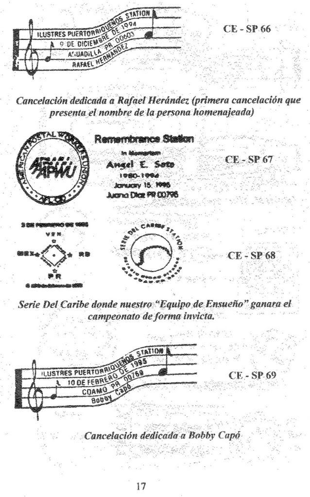 Cancelaciones Especiales de Puerto Rico 1927-2001 018-1