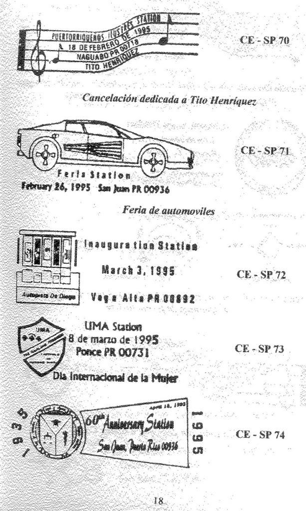 Cancelaciones Especiales de Puerto Rico 1927-2001 019-1